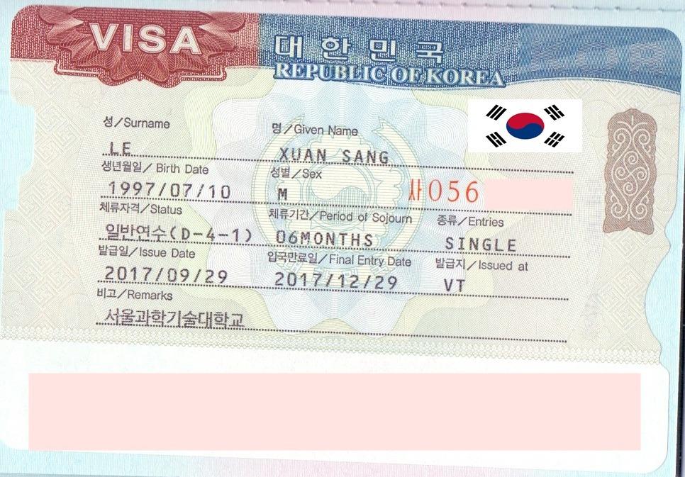 Lê Xuân Sang – Nhận visa du học Hàn Quốc nhờ sự kiên trì và quyết tâm
