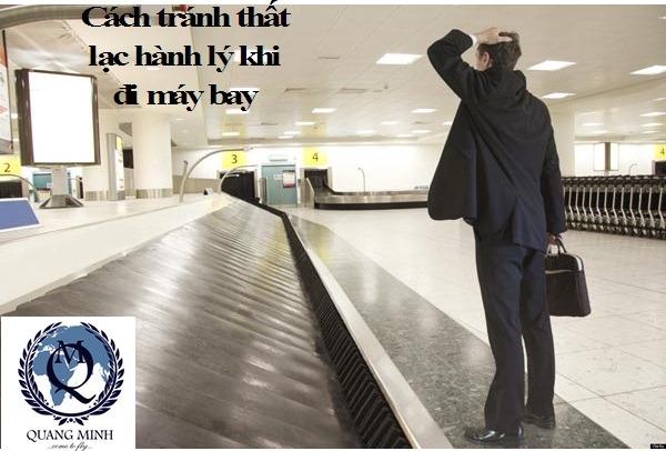 Các mẹo tránh thất lạc hành lý khi đi máy bay