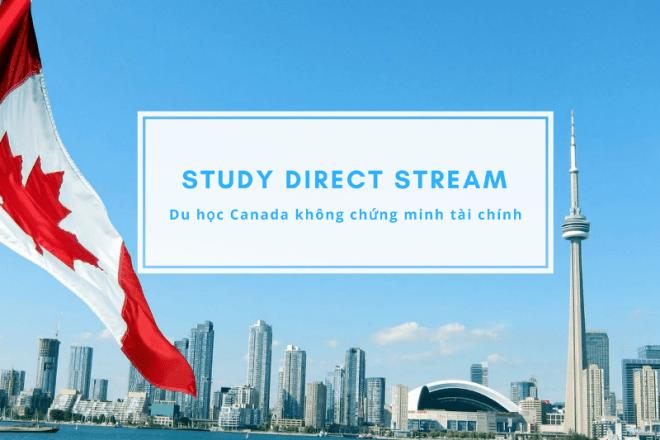 Du học Canada không cần chứng minh tài chính – SDS program