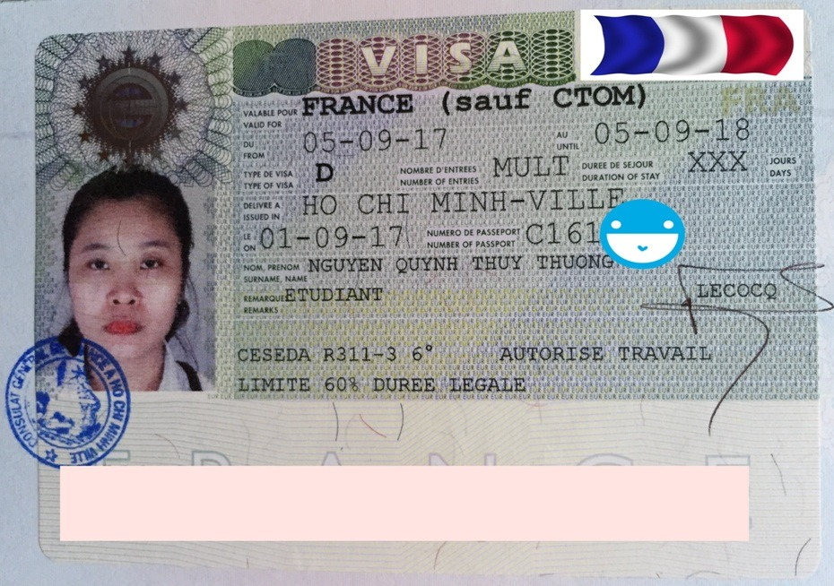 """Visa Pháp """"hỏa tốc"""" trong vòng một tháng"""