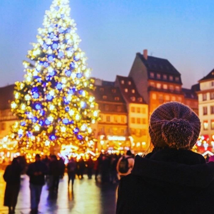 Hội chợ Giáng Sinh Strasbourg tại Pháp