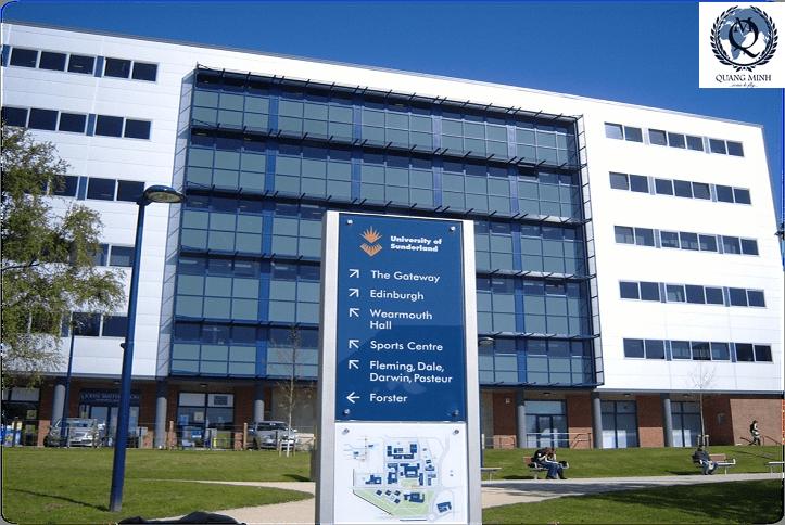 Du học tại đại học Sunderland – Vương quốc Anh