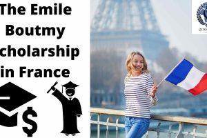 Emile-Boutmy-Scholarship