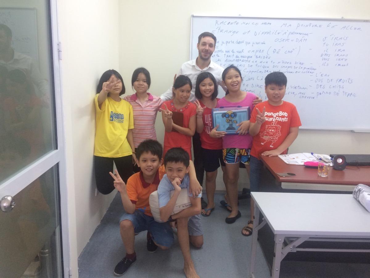 Khoá học hè tiếng Pháp – Lớp học thân thiện cùng với chuyên gia người Pháp