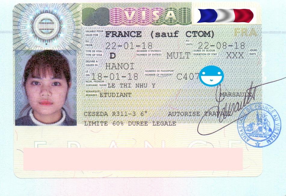 Nhận visa du học Pháp chỉ trong năm ngày