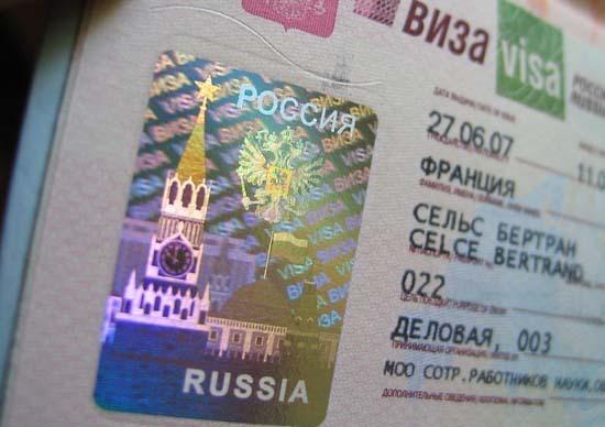 Thủ tục xin visa du học Nga