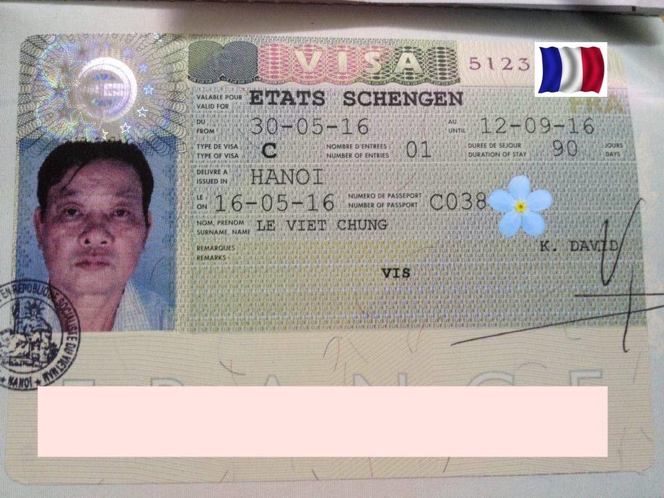 Chúc mừng bác Lê Viết Chung đạt visa thăm thân đi Pháp