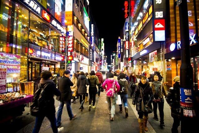 Những con đường dành riêng cho teen tại Hàn Quốc