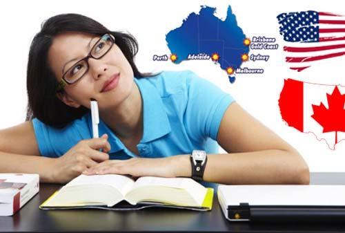 Nên du học Canada, Mỹ hay Úc? (P1)