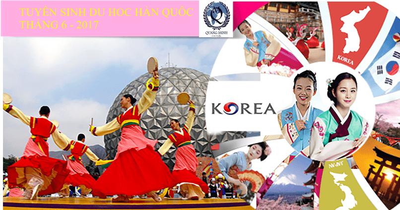 Tuyển sinh Du học Hàn Quốc Visa thẳng kỳ tháng 6 – 2017