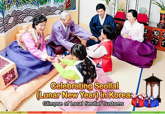 Những điều thú vị về ngày lễ Seollal ( Tết âm lịch Hàn Quốc)