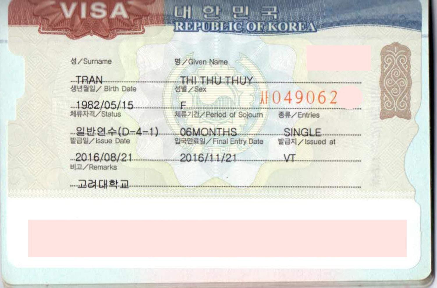 Miễn phí luyện phỏng vấn visa Hàn Quốc